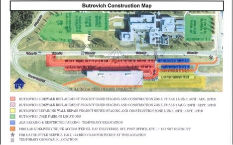 Map for Butrovich construction.