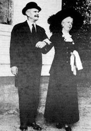 Arthur and wife Dorothy in 1956. Photo: UAF Alaska and Polar Regions Department