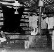 A den for college men like the one Arthur Loftus lived in. Photo: UAF Alaska and Polar Regions Department