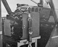 The conductivity recorder was strapped in the cockpit of an Aeronca Sedan. Photo: Geophysical Institute