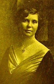 Mrs. Luther C. Hess, as puctured in the student newspaper, the Farthest North Collegian in 1925.