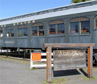 The Harding Car as it is preserved and displayed near the entrance of Pioneer Park. Photo: James D. Teresco