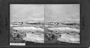 View from Nome Harbor, June 15. Ernst Stereo Views