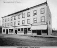 Nordale Hotel. University of Alaska Fairbanks Archives, Albert Johnson Photograph Collection