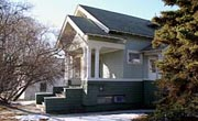 The Leopold David House in Anchorage has been placed on the National Register of Historic Places.