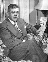 Conrad Albrecht served as regent from 1949 to 1957. Photo by Jean Cunningham of the Winston-Salem Journal and Sentinel