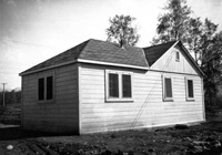 Doctor's house in Palmer, 1936. Photo: University of Alaska Anchorage Consortium Library, Archives & Special Collections, C. Earl Albrecht Papers