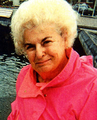 Helen Atkinson downton in the 1980s. Photo: Atkinson Collection